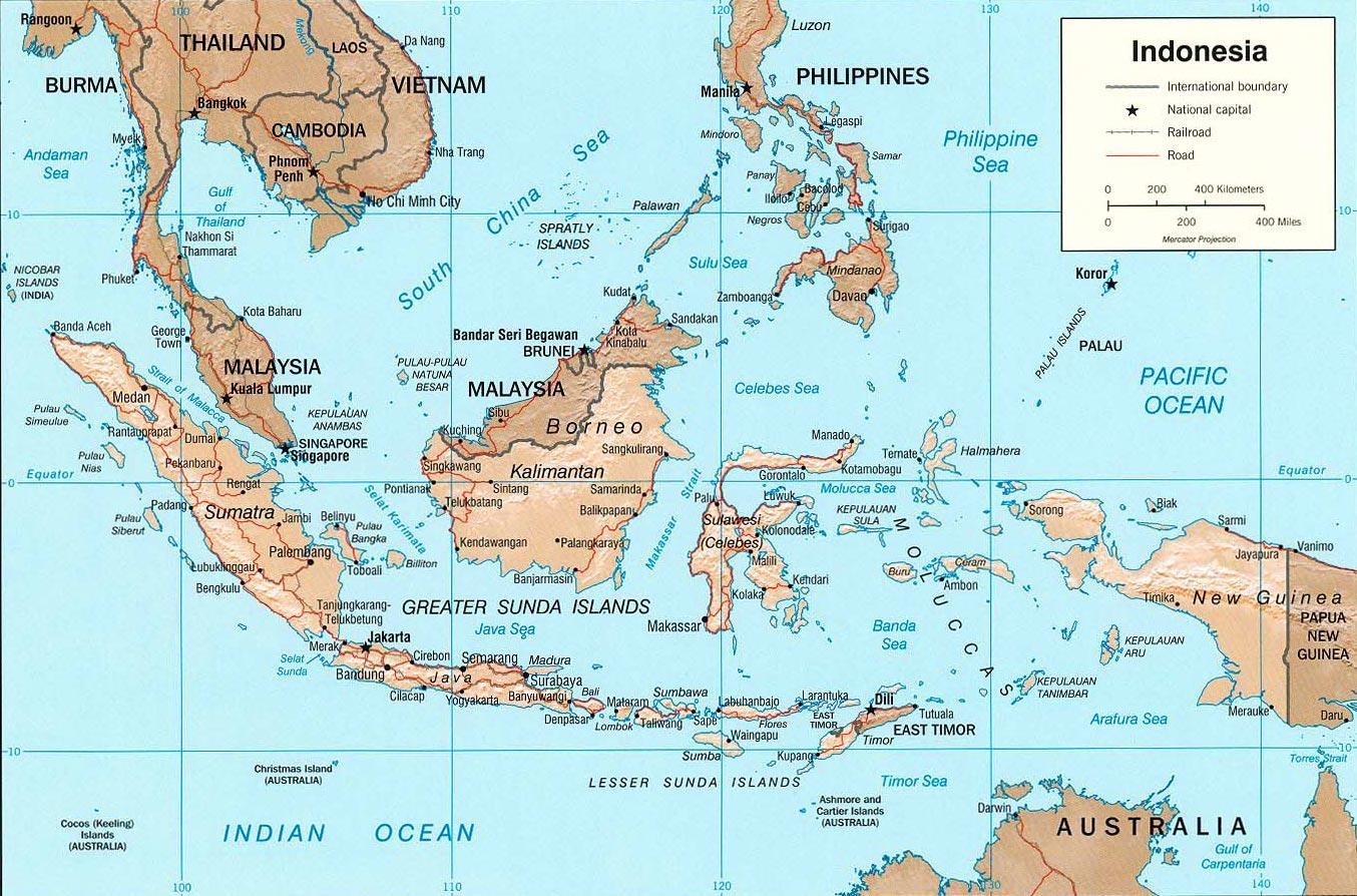 Indonesian Kartta Intoosian Asioita Vuodatus Net